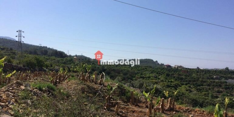 192000 Euro Plot For Sale in Alanya Oba 7
