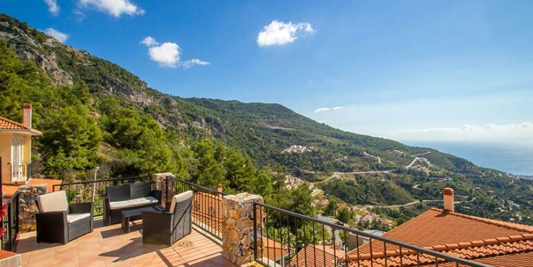 199000 Euro Sea View Villa For Sale in Alanya 18
