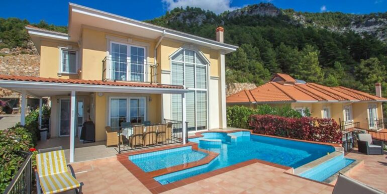 199000 Euro Sea View Villa For Sale in Alanya 20