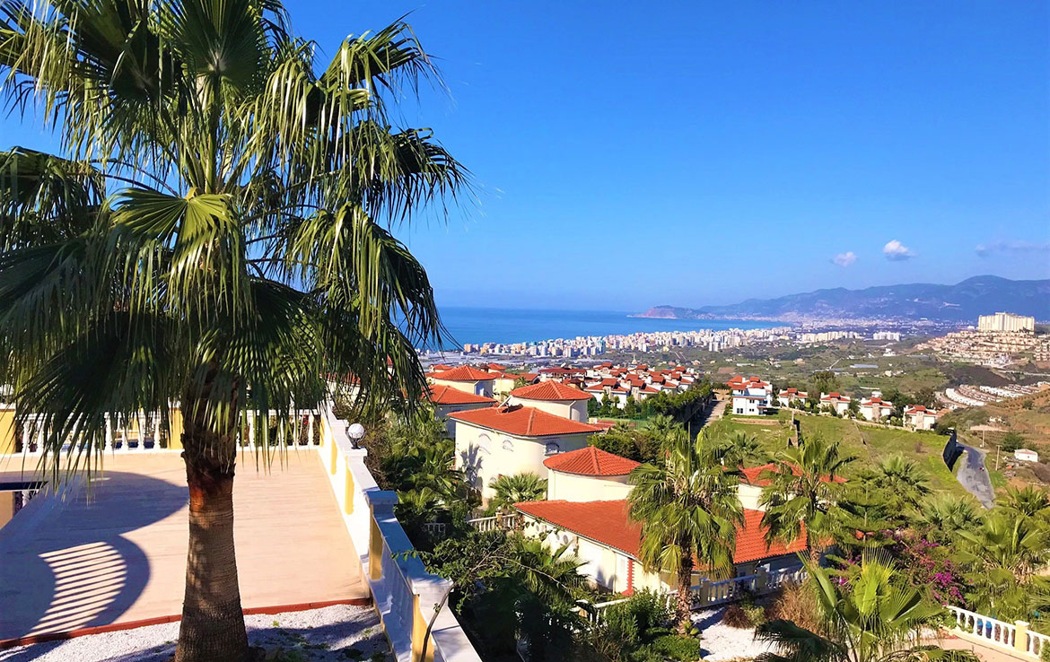 209000 Euro Sea View Private Villa Te Koop in Alanya