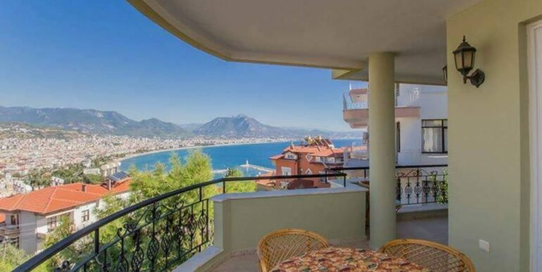 219900 Euro Sea View House For Sale in Alanya 1