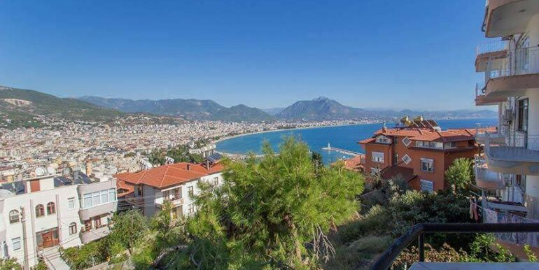 219900 Euro Sea View House For Sale in Alanya 2