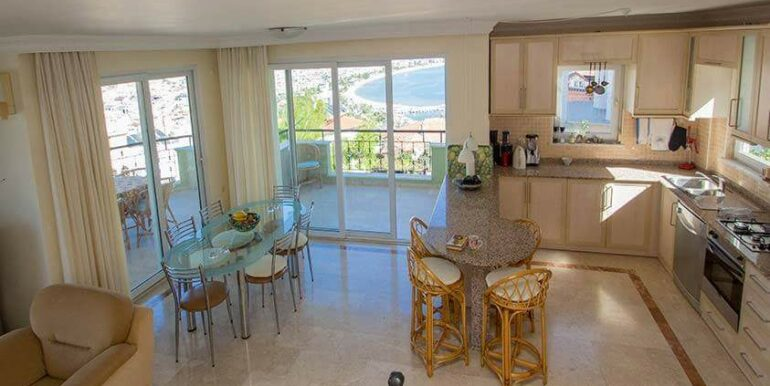 219900 Euro Sea View House For Sale in Alanya 3