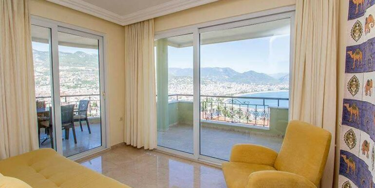 219900 Euro Sea View House For Sale in Alanya 4