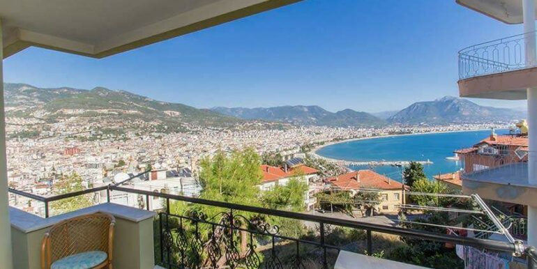 219900 Euro Sea View House For Sale in Alanya 5