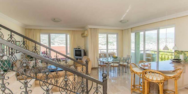 219900 Euro Sea View House For Sale in Alanya 7