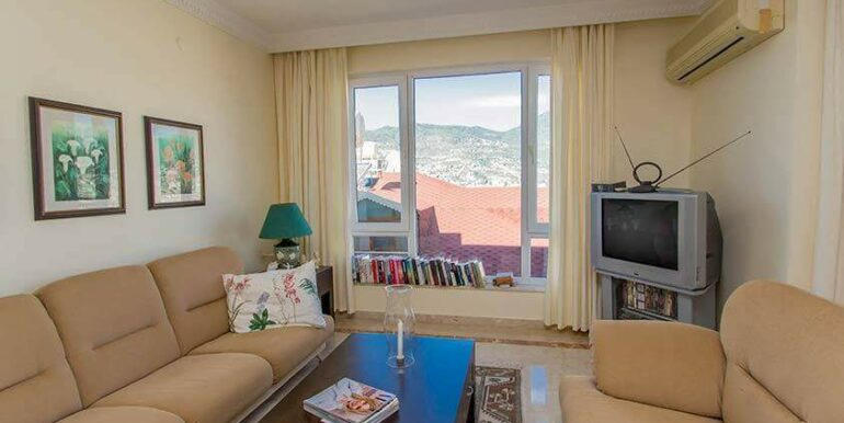 219900 Euro Sea View House For Sale in Alanya 8