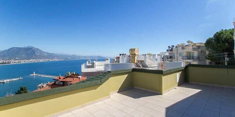 219900 Euro Sea View House For Sale in Alanya 15