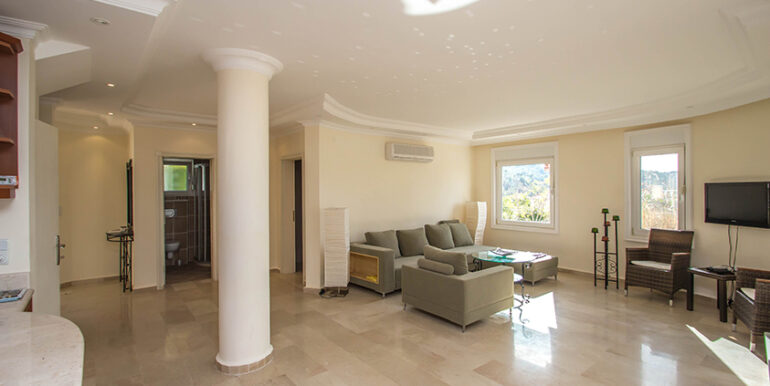 249000 Euro Sea View Villa For Sale in Alanya 61