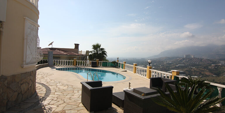 279000 Euro Villa For Sale in Alanya 16