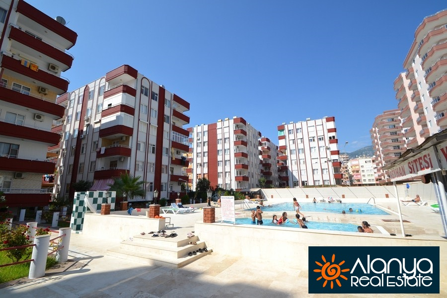 33000 Euro 2 Bedroom Apartment For Sale in Alanya