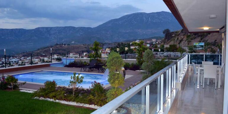 410000 Euro VIP Villa For Sale in Alanya Kargicak 2