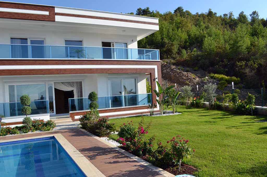 410000 Euro VIP Villa For Sale in Alanya Kargicak