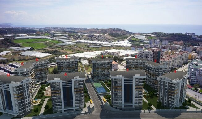 45000 Euro New Apartments For Sale in Alanya 1