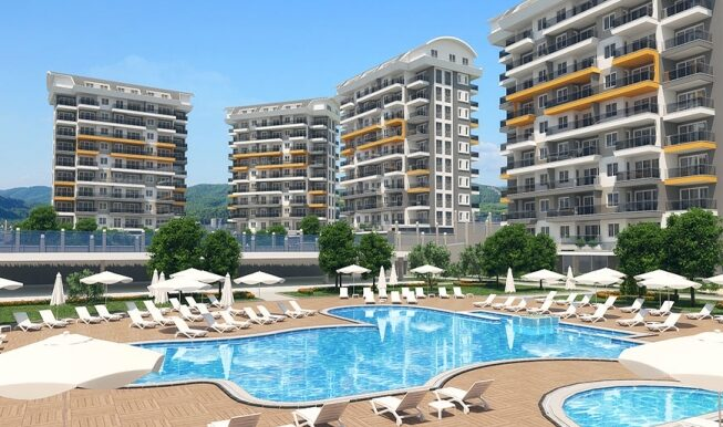 45000 Euro New Apartments For Sale in Alanya 2
