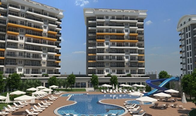 45000 Euro New Apartments For Sale in Alanya 3