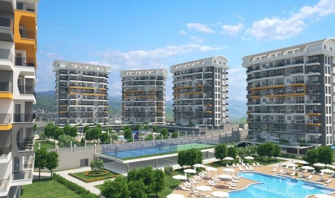 45000 Euro New Apartments For Sale in Alanya 5