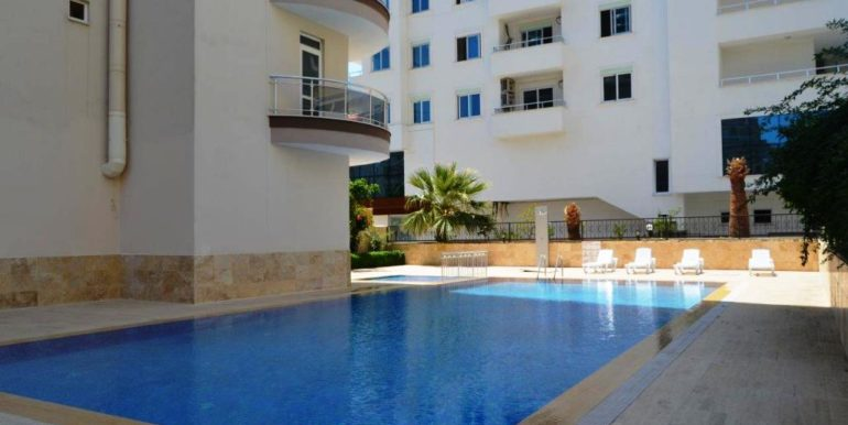 46000 Euro New Apartment For Sale in Alanya Centrum 1