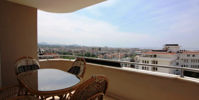 47000 Sea View Apartment For Sale in Alanya Cikcilli 1