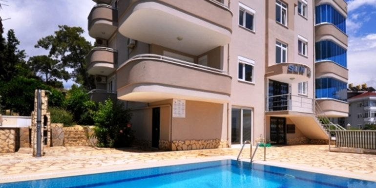 47000 Sea View Apartment For Sale in Alanya Cikcilli 2