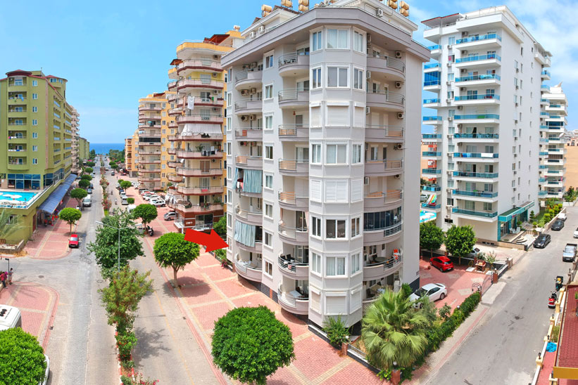 49000 Euro Apartment for Sale in ALanya Mahmutlar