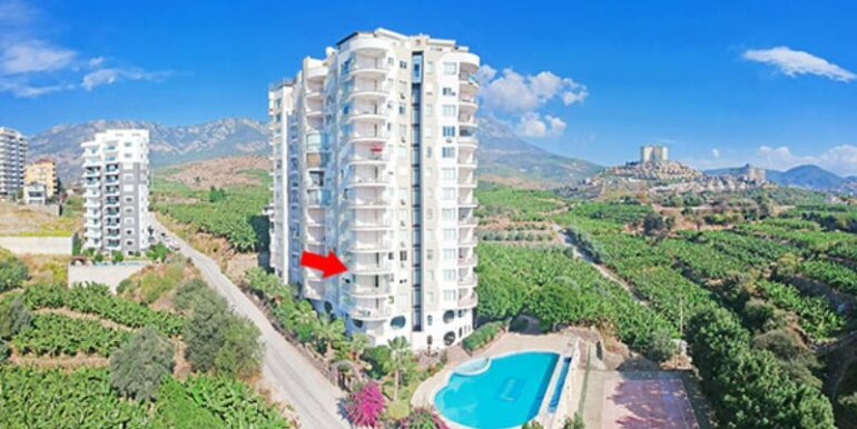 49900 Euro Sea View Apartment for Sale in Alanya 1