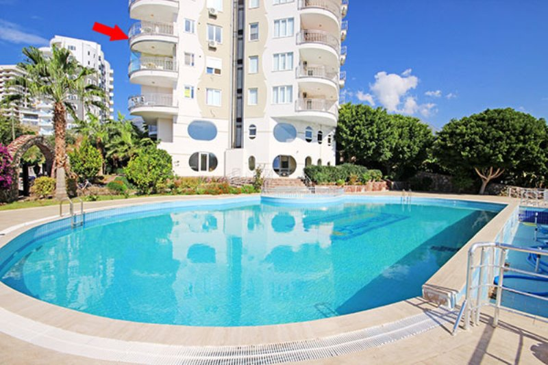 49900 Euro Sea View Apartment for Sale in Alanya