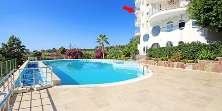 49900 Euro Sea View Apartment for Sale in Alanya 7