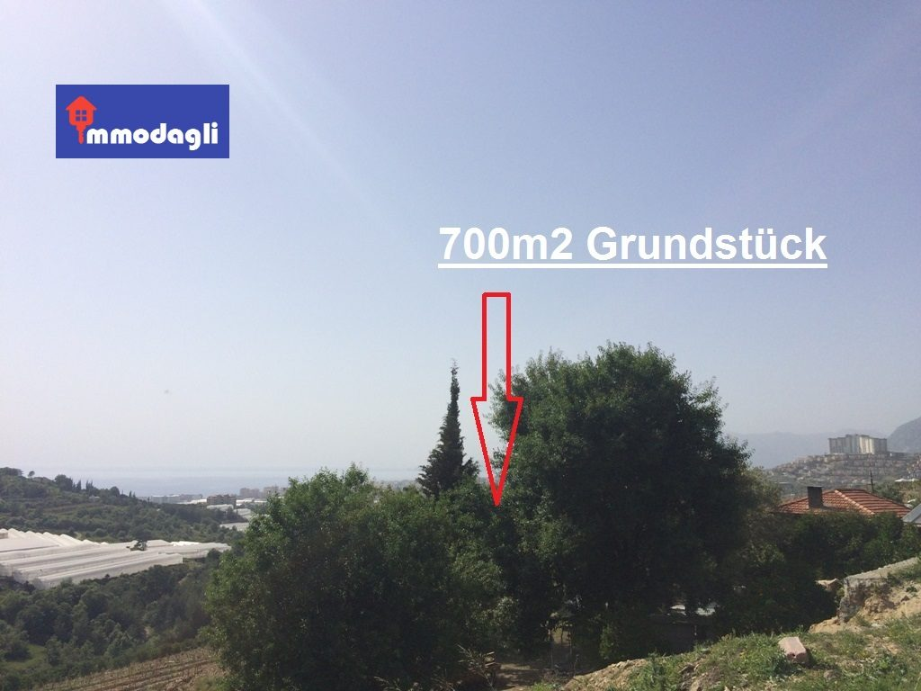 52500 Euro Land For Sale in Alanya