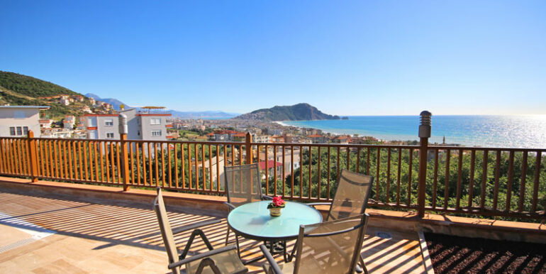 525000 Euro Villa For Sale in Alanya 4