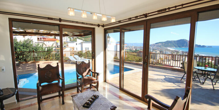525000 Euro Villa For Sale in Alanya 7