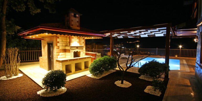 525000 Euro Villa For Sale in Alanya 21