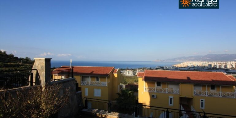 55000 Euro Sea View Apartment For Sale in Alanya 1