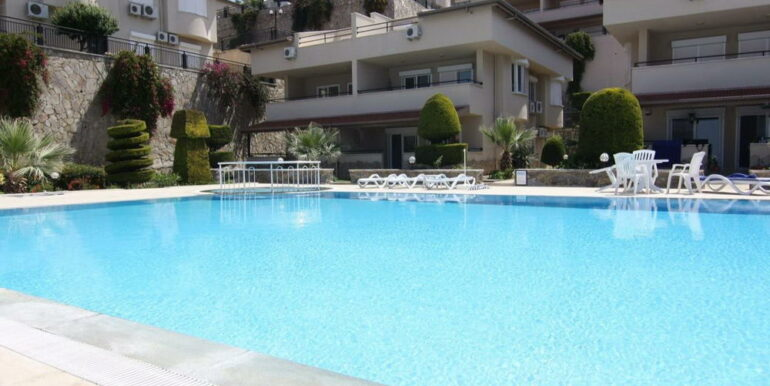 55000 Euro Sea View Apartment For Sale in Alanya 2