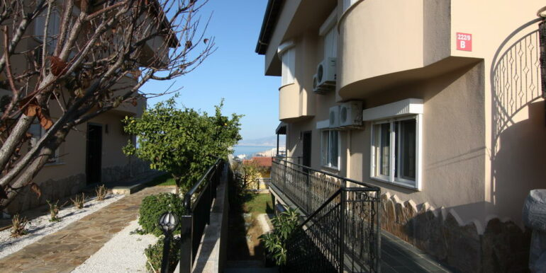 55000 Euro Sea View Apartment For Sale in Alanya 19