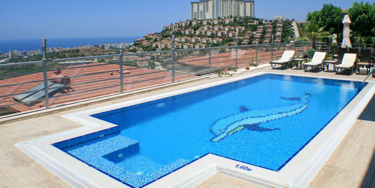 550000 Euro Luxury Villa For Sale in Alanya 6