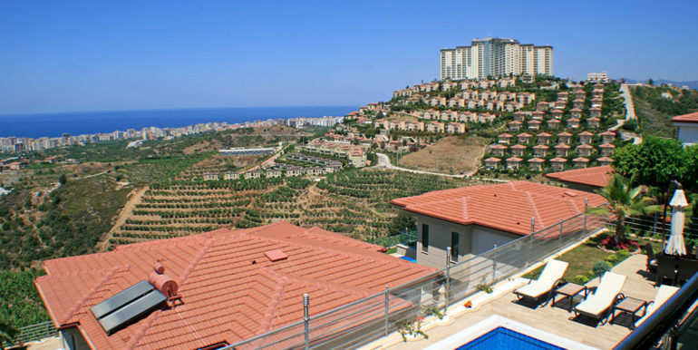 550000 Euro Luxury Villa For Sale in Alanya 41
