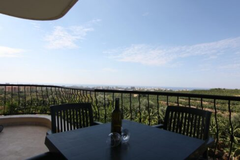 56000 Euro Seaview Apartment For Sale in Alanya 11