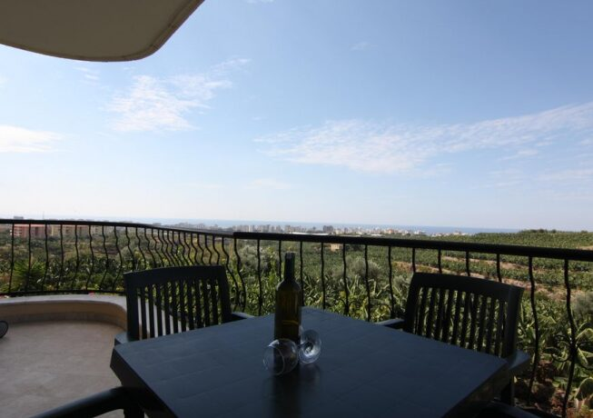 56000 Euro Seaview Apartment Te Koop in Alanya 11