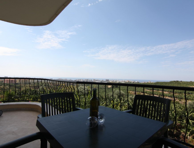 56000 Euro Seaview Apartment Te Koop in Alanya
