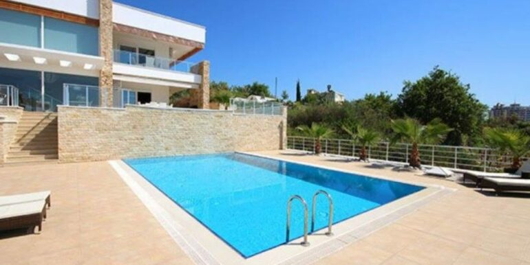 575000 Euro Villa For Sale in Alanya 1