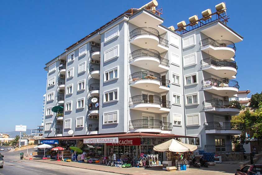 59000 Euro Beachfront Apartment in Alanya Centrum