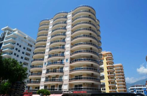 59000 Euro New Apartment For Sale in Alanya Mahmutlar