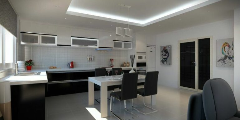 59000 Euro New Apartments For Sale in Alanya 2