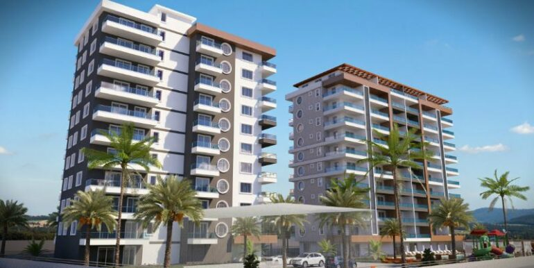 59000 Euro New Apartments For Sale in Alanya 6