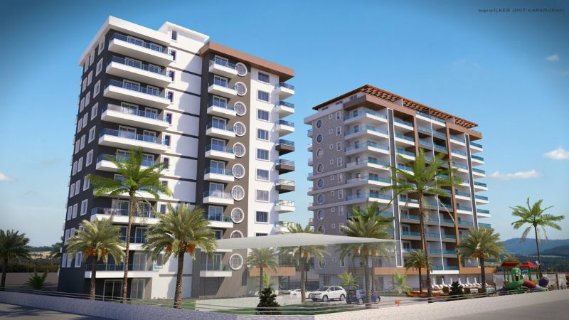 59000 Euro New Apartments For Sale in Alanya