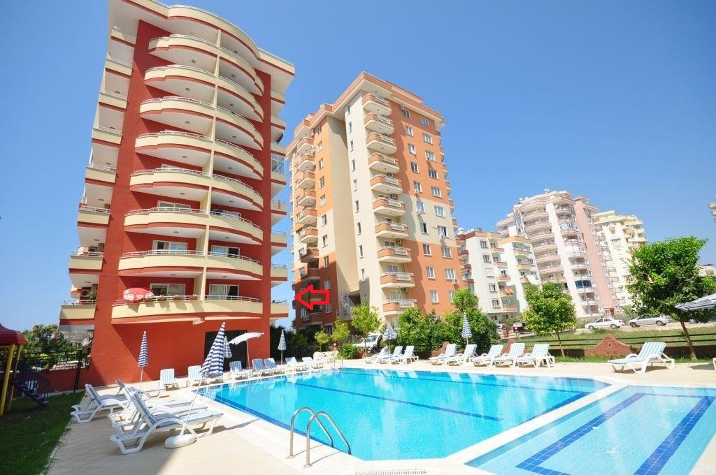 Apartment For Sale in Alanya Mahmutlar 59900 Euro