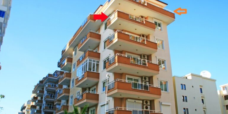 59900 Euro Penthouse For Sale in Alanya 1