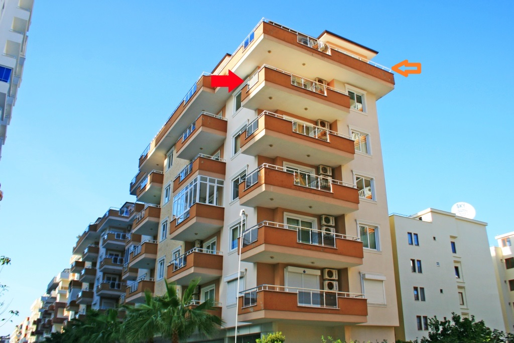 59900 Euro Penthouse For Sale in Alanya