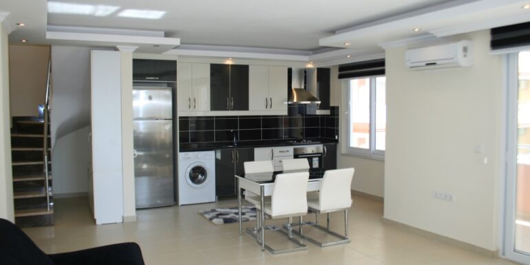 59900 Euro Penthouse For Sale in Alanya 3